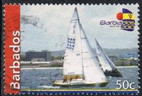 Barbados 2010 Sailing 50c good/fine used